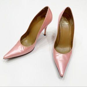 Stuart Weitzman Vintage Millenial Pink Pumps